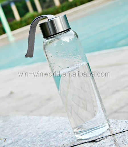 New Promotional Gift Reusable Portable Energy Drink Glass BPA Free Water Bottle
