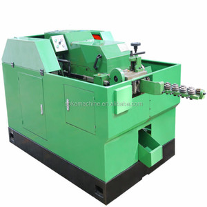 Soka brand total full automatic cold heading wire nail making machine manufacturer