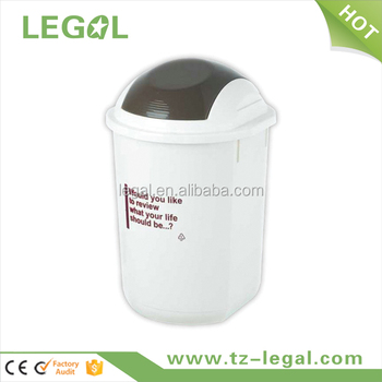 ac stainless bin recycling white steel dingdangbell dp household swing basket countertop desktop stephaee can with cute paper small lid rubbish mini trash wastebasket waste plastic