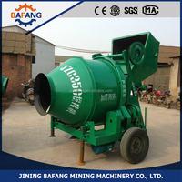 cheap price 5.5 kw Mobile hydraulic pump cement concrete Mixer for sale