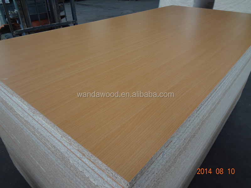 White Laminated Particle Board ~ White melamine coated particle board laminated chipboard