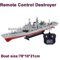 Military Toy Boats Rc Boat Toys 1:275 Rc Destroyer Boat Ht 2879a ...