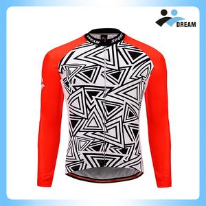 e4d256c20 DREAM SPORT wholesale OEM design man long sleeve cycling jersey and  sportswear
