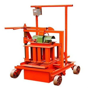 Cheap Price for home investment QMY2-45 Manual moving block making machine easy operate