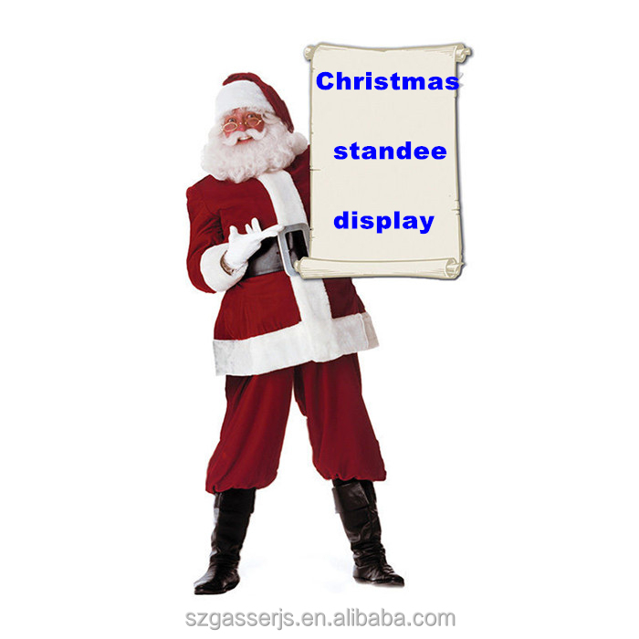 Economic Matte Surface Life Size Christmas Decorations For Store