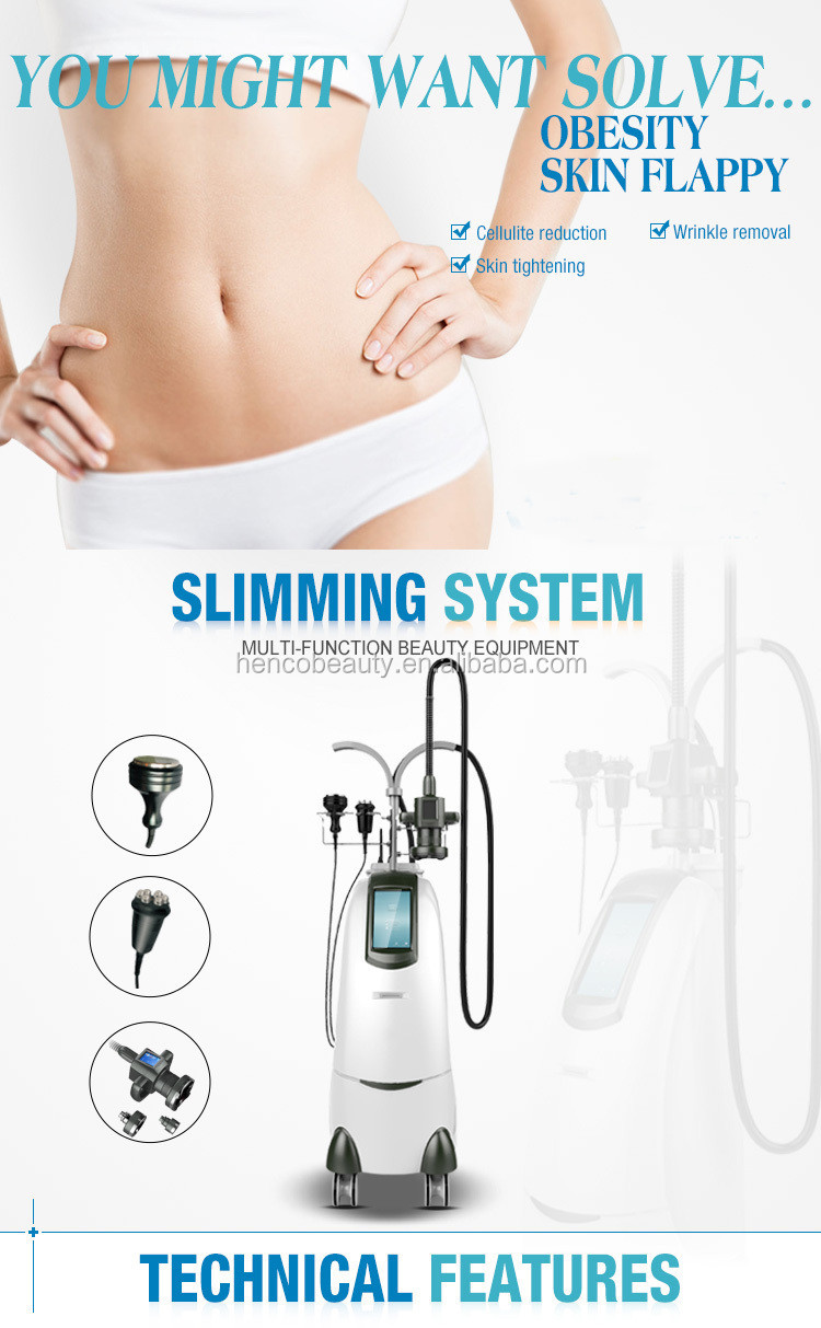 Henco beauty New Super body Sculptor Cavitation slimming machine by rotating fat M9+3S