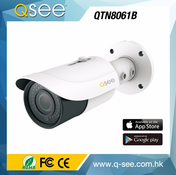 Shenzhen 5 MP 50mm IR Distance IP Camera,Bullet IP Camera POE Security Device