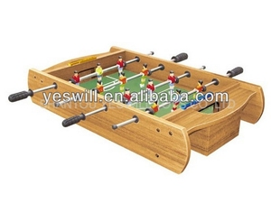 Hot wooden table football game, sport toys