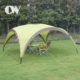 Sunshine leisure 30 person fabric sun easy up ultralight dome outdoor beach camping shelter tent