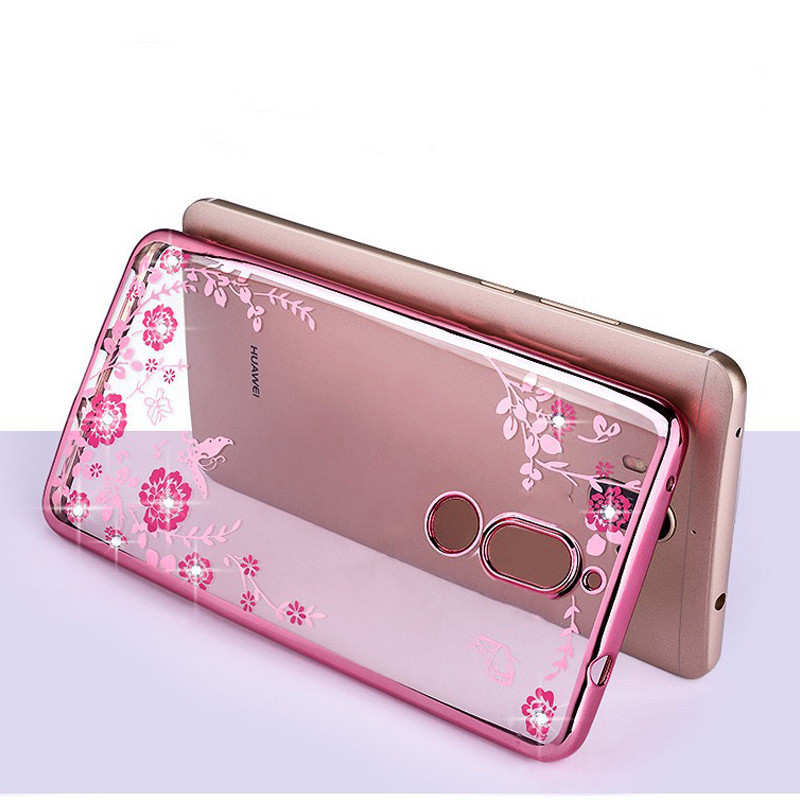 Hot sale luxury secret garden soft TPU cover mobile phone case For Huawei mate 10/P10/P9/P9 lite