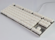 Ergonomics Style USB Wired Mechanical Keyboard with LED Backlit