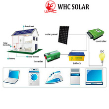 PV off grid solar power system home 5KW for cooker