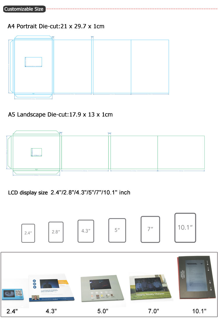 (High) 저 (Quality Touch Screen Video 브로셔 Components 5 Inch Tft Lcd Panel Ips Lcd Module
