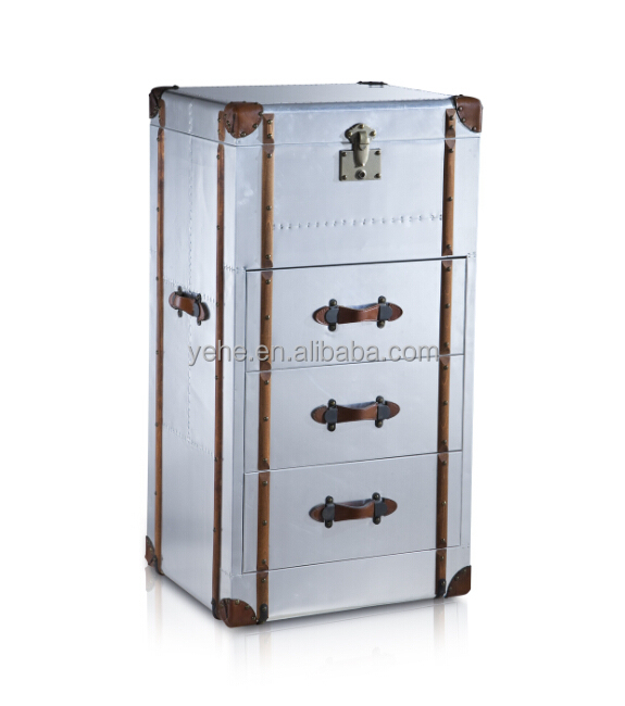 Richards trunk chest of drawers