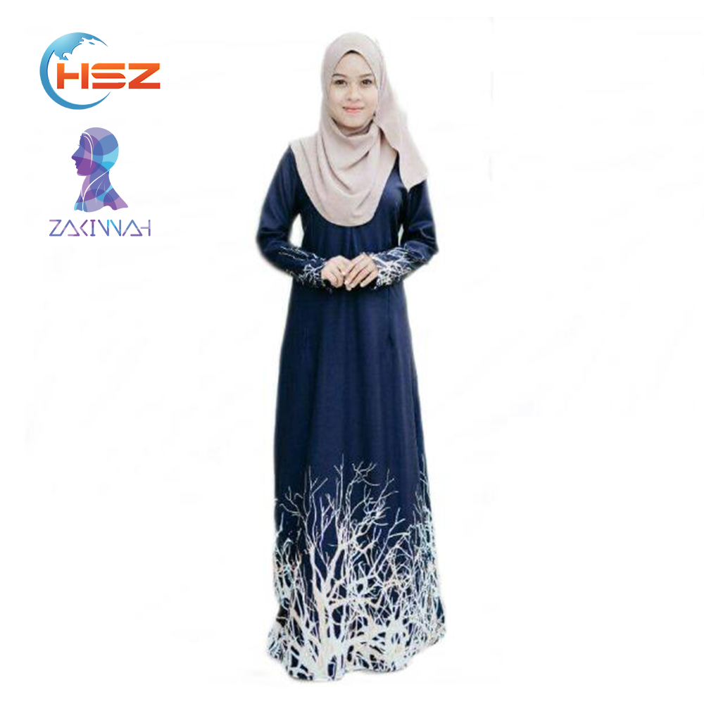 Zakiyyah HX013 Latest Kaftan Dress 2 PCS Set Designs Moroccan Kaftan Wholesale in China New Suit Model Abaya in Dubai