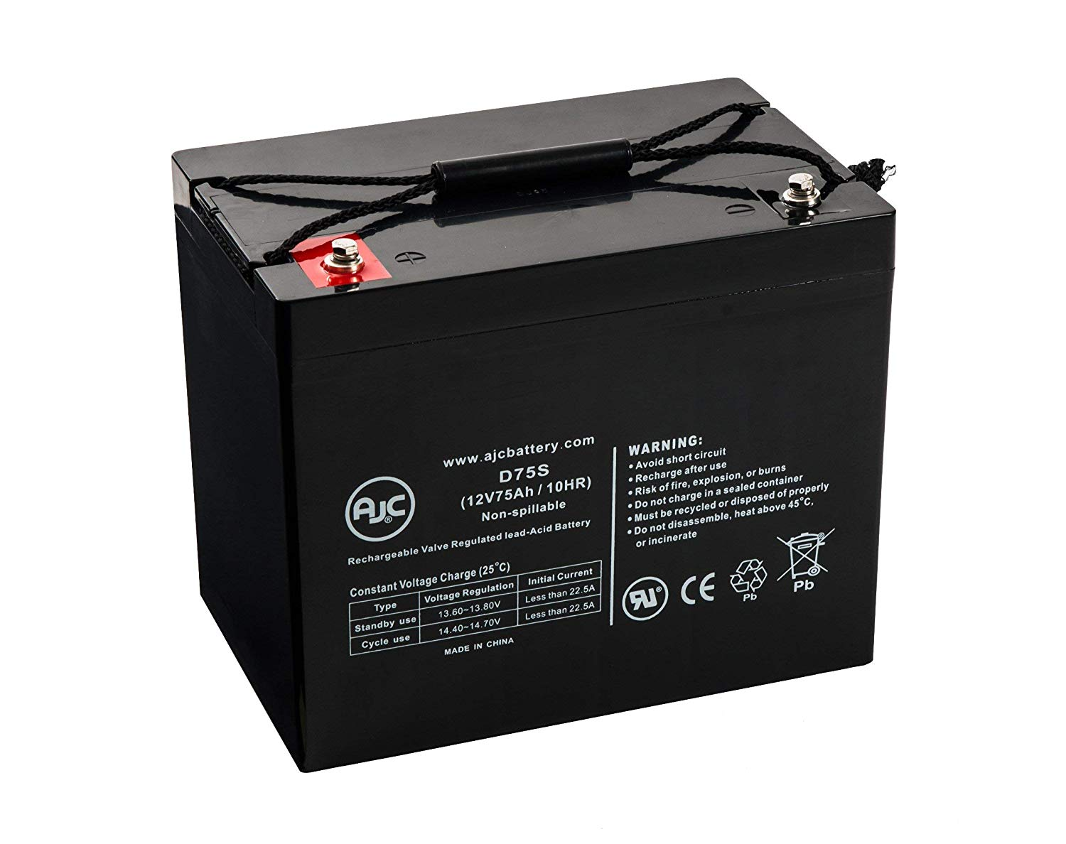 Eaton Powerware PW5115-500 Replacement Battery Rechargeable, high Rate