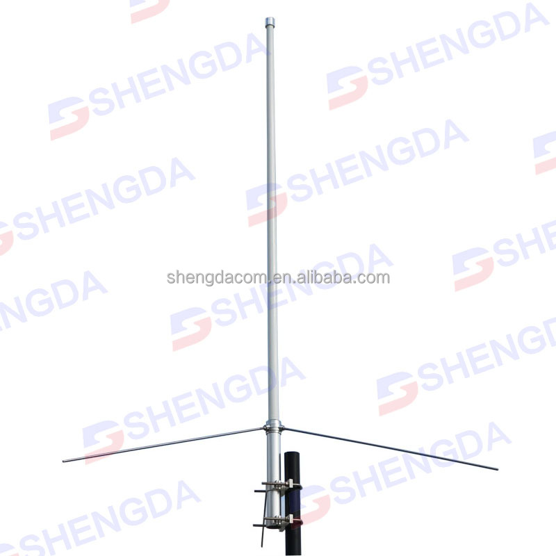 Vhf fiberglass base station antenna 134-174MHZ/BC100 Diamond antenna with  cutting chart, View base station antenna, Product Details from Quanzhou