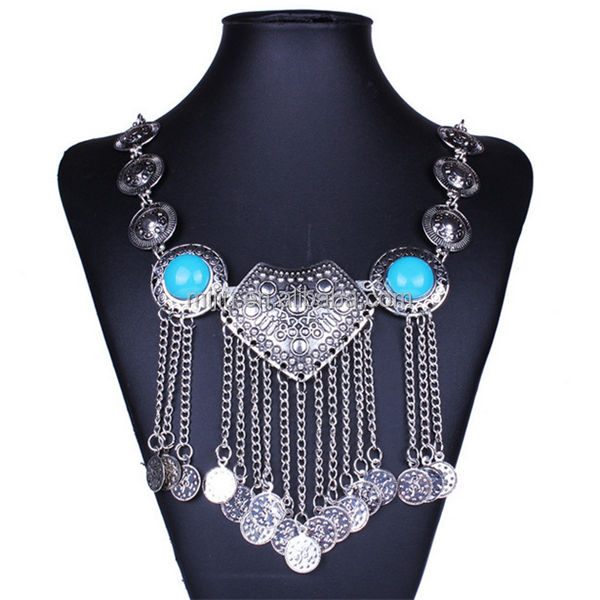 Ethnic Style Elegant Fashion Jewellery with Chain Pendant
