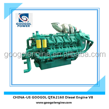 800kW Inboard Ship Diesel Engine for Generator Electricity Supply