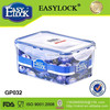 china manufacturer stackable glass storage container for food