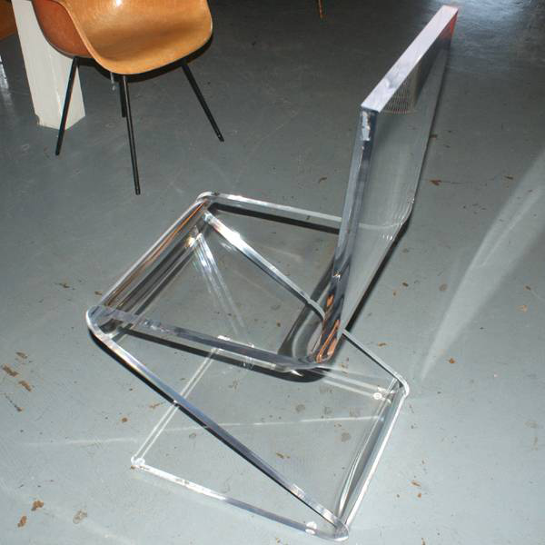 Stylish Furniture Colored Acrylic Chairs,hot Bending Cheap Z Acrylic Chair,acrylic  Furniture Colored Part 49