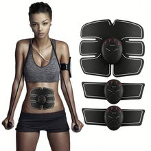 Muscle Stimulator Body building EMS Fitness Muscle Stimulator abdominal Electric Abdominal Massage