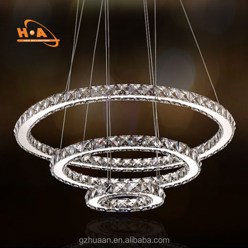 China supplier 3 ring led chandelier wholesale beautiful round china supplier 3 ring led chandelier wholesale beautiful round crystal chandeliers for living room aloadofball Gallery