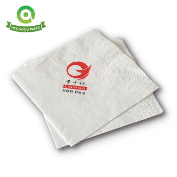Hot Selling Eco-Friendly Custom Logo Printed Paper Napkins