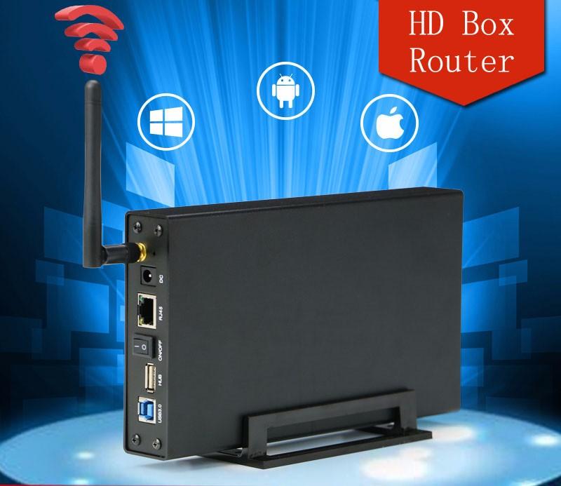 Bs-u35wf 3.5 Hdd Lan Enclosure 3tb Wireless Hard Drive Case Usb ...