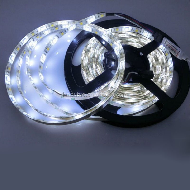 24V 3528 SMD LED CCT color temperature adjustable led strip one strip two colors