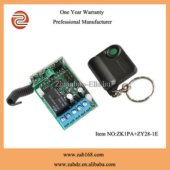 Zk1pazy28 1e80mrf Wireless Garage Door Remote Transmitter