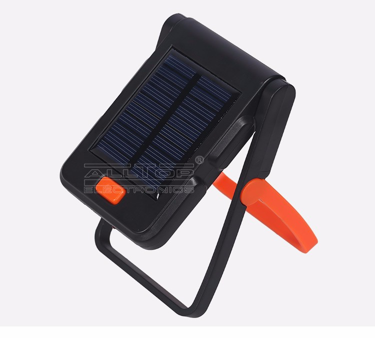 3W Rechargeable integrated solar powered bed led reading lamp