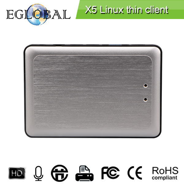 Rdp8 нулю тонкий клиент X5 для окон MultiPoint север и Windows 8 безвентиляторный компьютер облако VMware USB принтера 720 P онлайн-видео