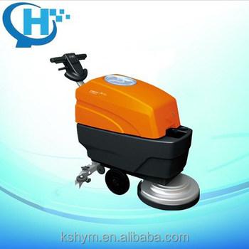 compact floor scrubber machine