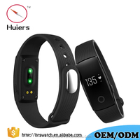 Newest style bracelet bangle smart watch, silicone bluetooth bracelet pedometer