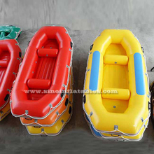 2.95x1.40 mts drifting N fishing 4 persons red inflatable drift boat with beams from Sino inflatables