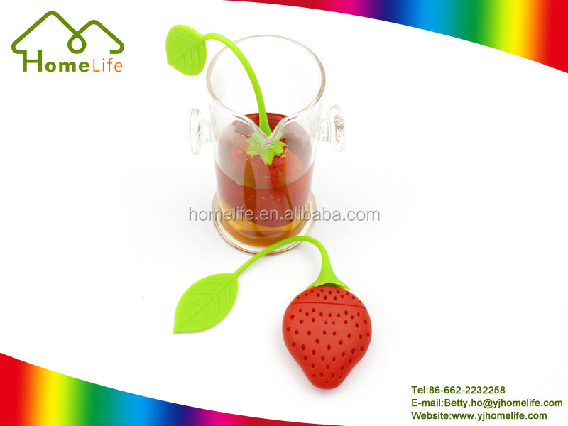 High Quality Lemon Spice Herbal Strainer Filter Diffuser bottle Silicone Tea Infuser