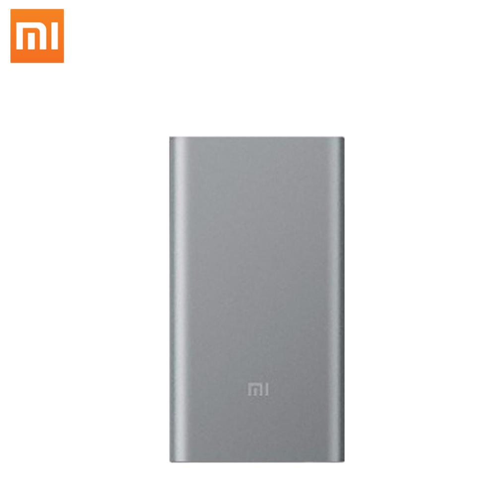 100%オリジナルxiaomiパワーバンク5000 mah mi 5000 mah外部バッテリーポータブル充電器モバイルpowerbank用スマート電話パッド