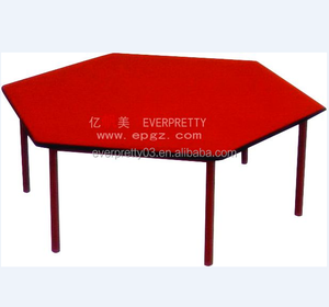 Factory price reading room school wooden table for children study