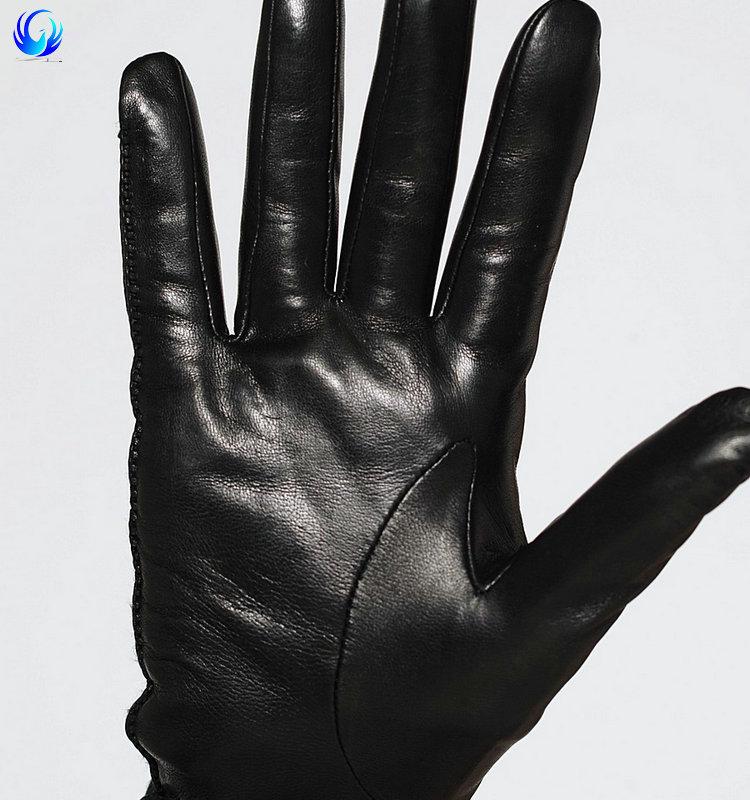 Custom Made Black Leather Gloves Women Long Leather Gloves ...