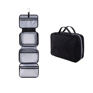 V-FOX Custom Travel Kit Organizer Waterproof Cosmetic Bag Travel Hanging Toiletry Bag for Men and Women