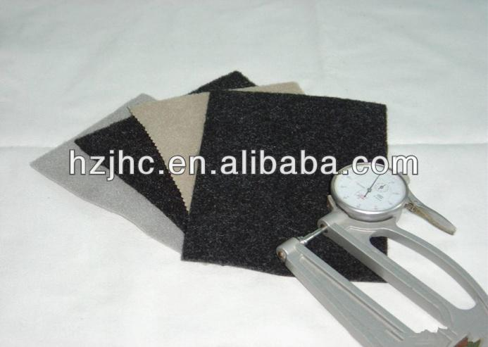 Needle punched polyester ES fibre nonwoven car carpet upholstery fabric