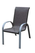 alibaba Outdoor furniture, aluminum stackable rattan chair