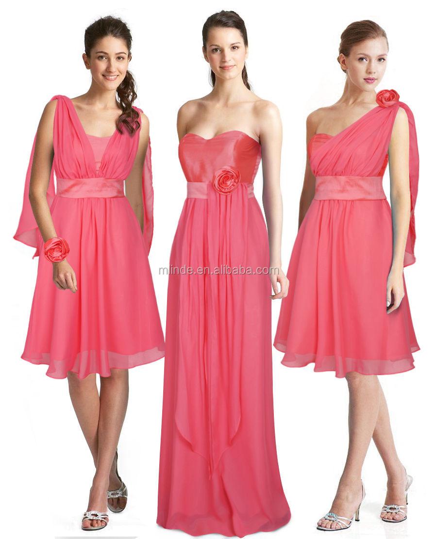Oem Multi Dama Boda Formal Para Las Mujeres Hermosas Con Vestidos Al ...