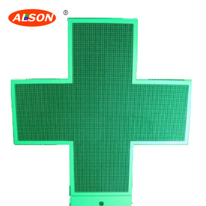 Outdoor LED Pharmacy Cross Display P10 Led Cross For Crossroad/church / hospital