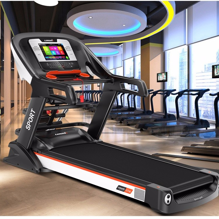 3.5 hp AC motor 560mm multifunctional with 7 inch TFT Touch screen AC motor GYM fitness treadmill