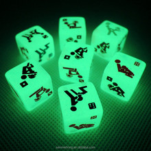 New Product Custom Adult Dice Games Plastic Sex Toys For Boys And Girl