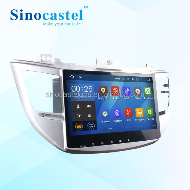 10.1 inch Android 5.1.1 HD Digital Multi-touch Screen 1080P Video Car DVD Player Custom Fit for Hyundai Tucson ix 35 2015
