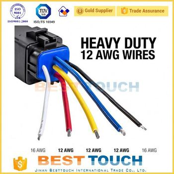 Hot Wires 12v Dc Power Relay Switch Buy Relay Switch12v Relay