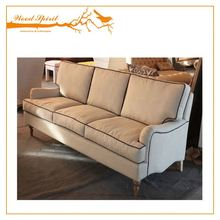 Fashionable designed antique velvet sofa